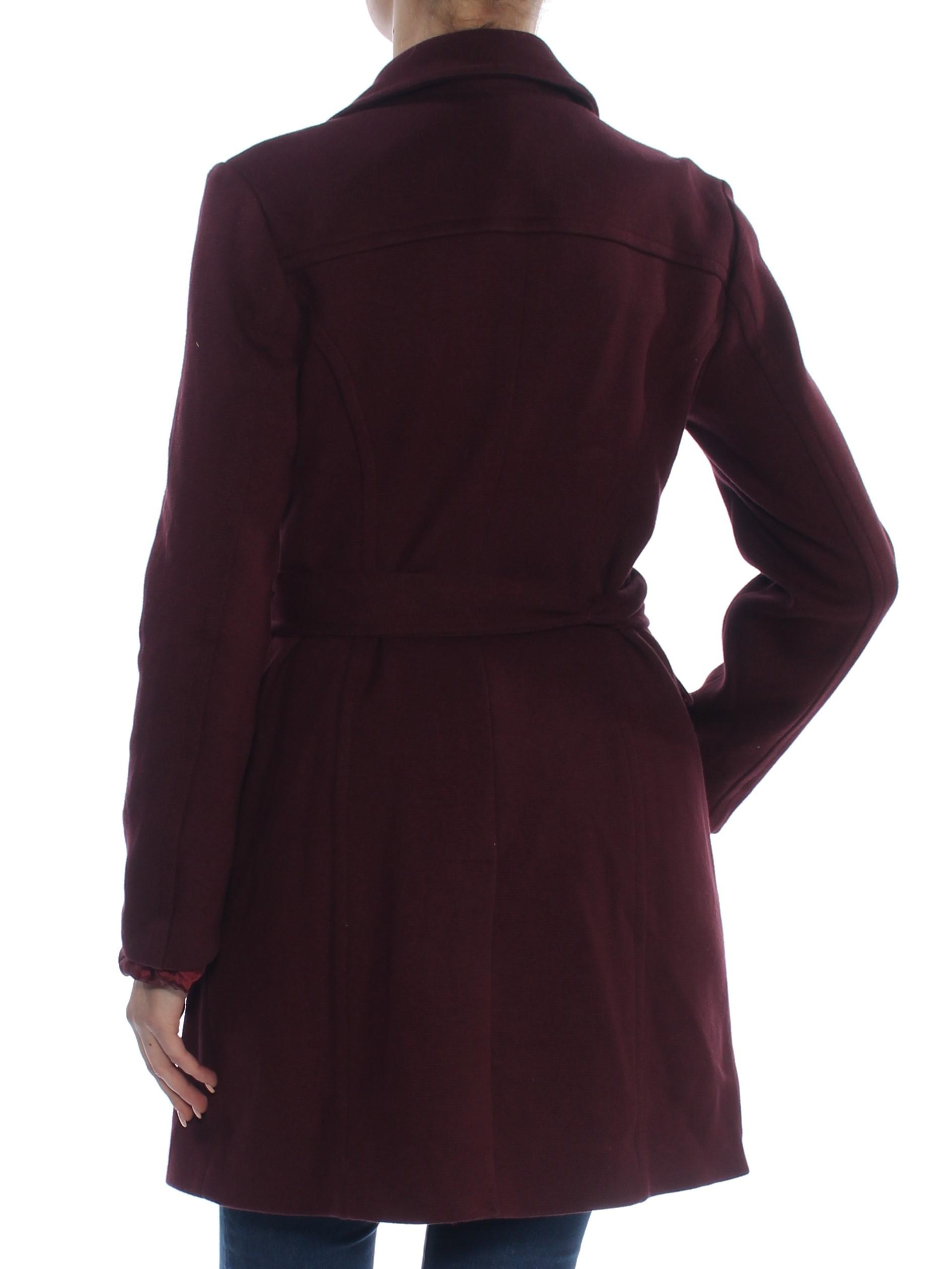 fe8ebc827d5cf INC  149 Womens New 1272 Burgundy Peacoat Casual Jacket M Plus B+B. gallery  image gallery image. INC GUARANTEED AUTHENTIC!