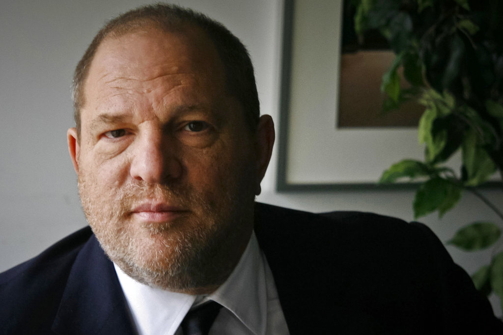 Weinstein uses quotes from female celebrities in his defence