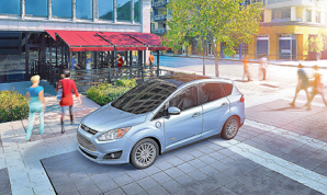The 2014 Ford C-Max Energi is shown in this undated photo. (Courtesy photo)