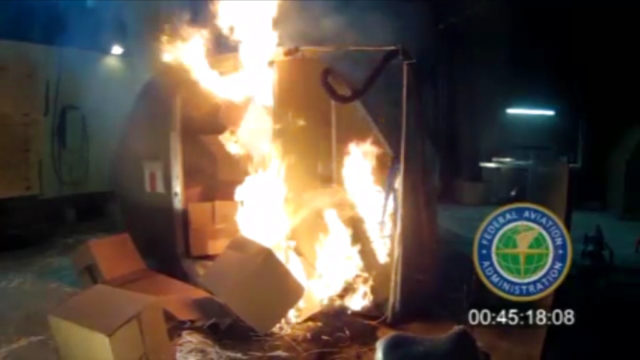 Airlines Battery Fires