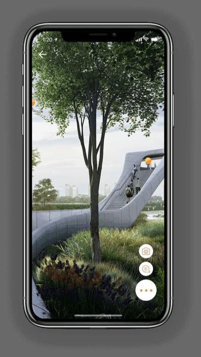 AR Platform Screen