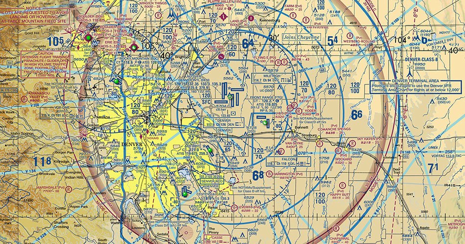 FAA Part 107 Sectional Charts