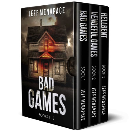 Featured Post: The Bad Games Series: Books 1-3 by Jeff Menapace