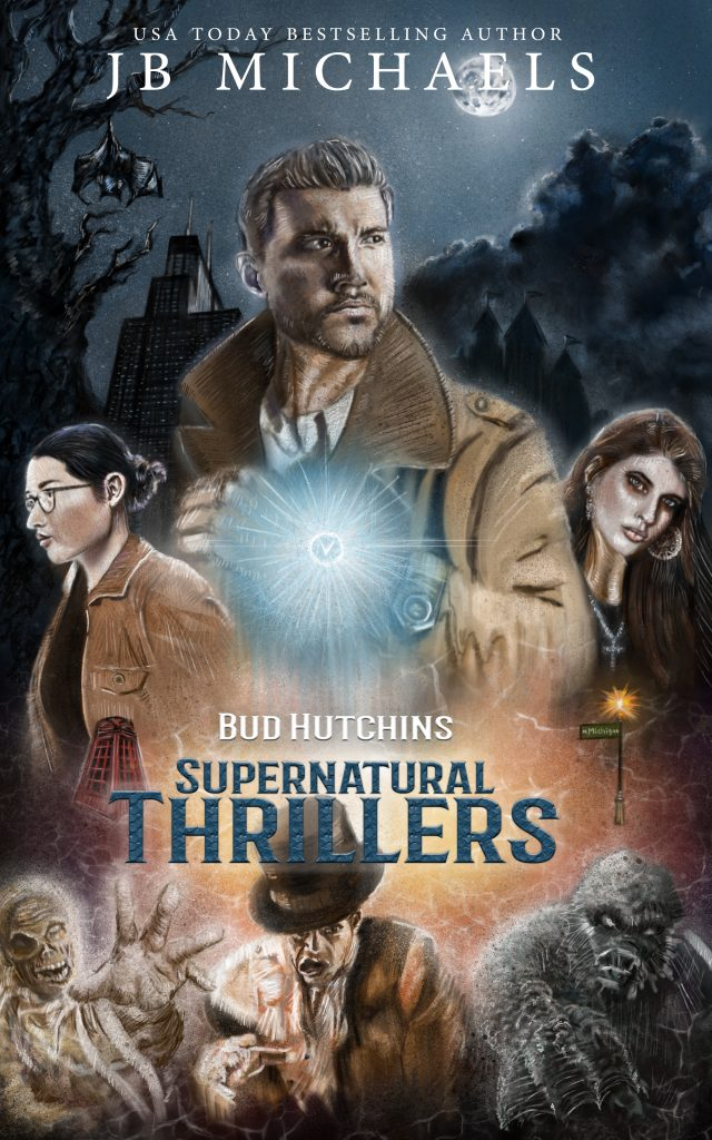 Featured Post: The Bud Hutchins Supernatural Thriller Series #1-3 by JB Michaels