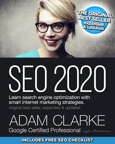 Featured Post: SEO 2020: Learn search engine optimization with smart internet marketing strategies by Adam Clarke