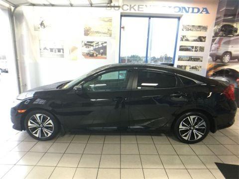 2017 Honda Civic EXL Black