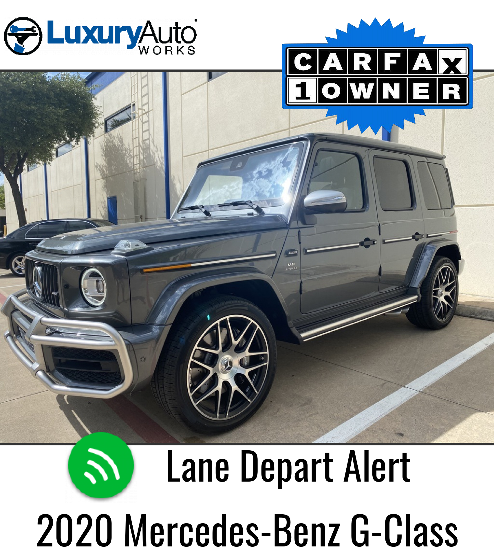 Pre-Owned 2020 Mercedes-Benz G-Class G 63 AMG®
