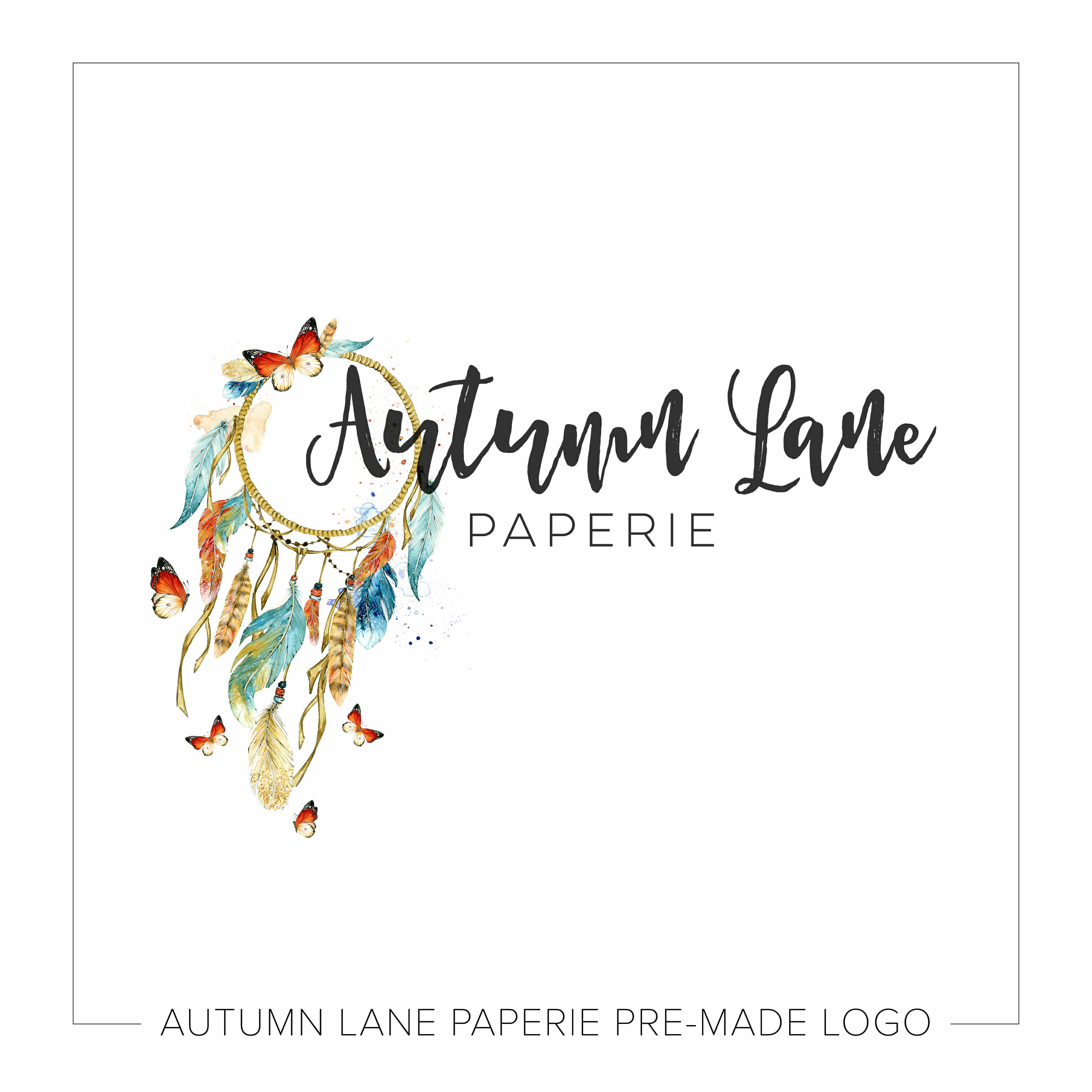 We Just Introduced New Premade Logo Styles Autumn Lane