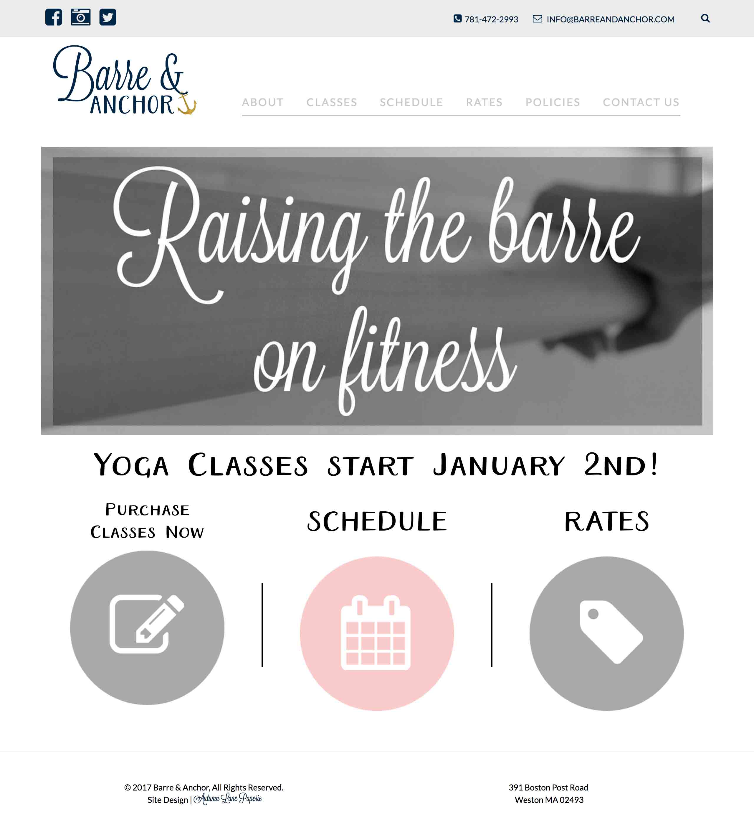 Barre & Anchor Fitness