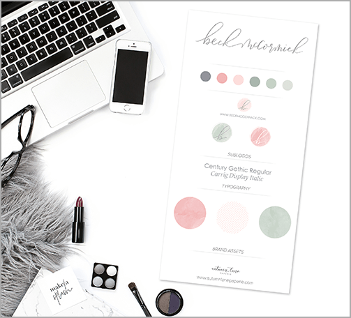 Autumn Lane Papaerie Ultimate Boutique Branding Package