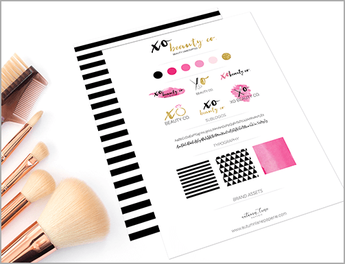 The Autumn Lane Paperie Branding Experience
