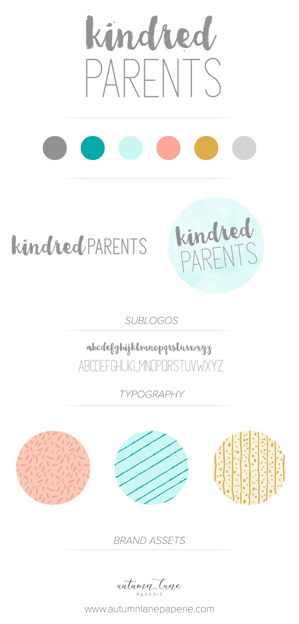 Kindred Parents Brandboard