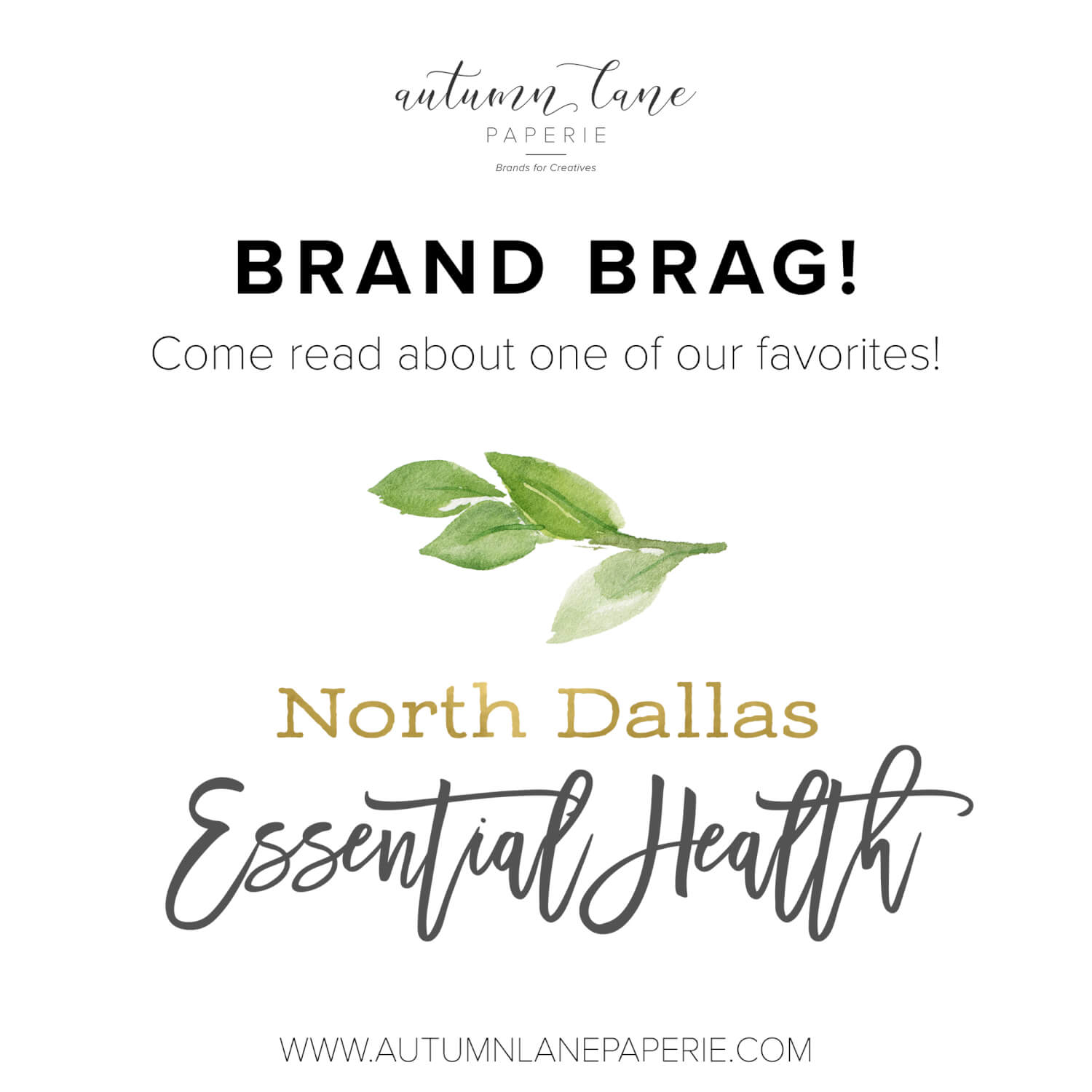 Brand Brag: North Dallas Essential Health