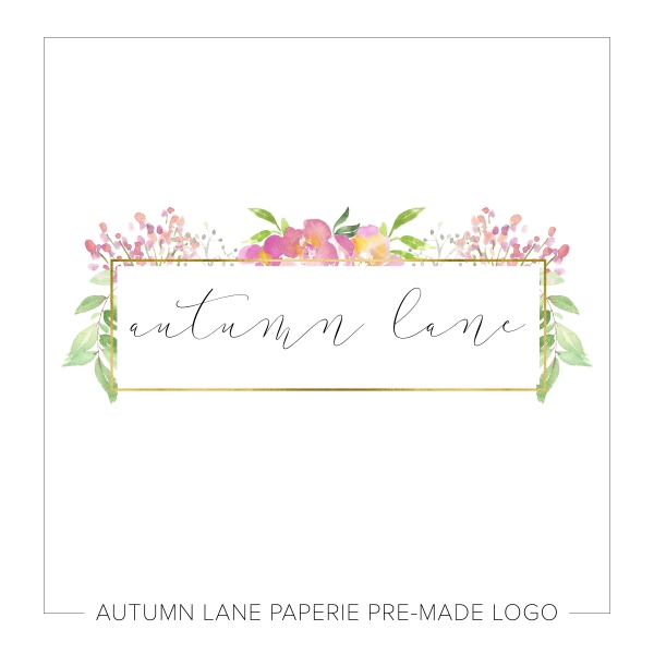 Simple Sweet Floral Logo K73