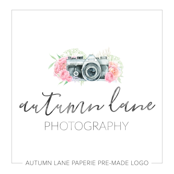 Bright Florals Camera Logo K91