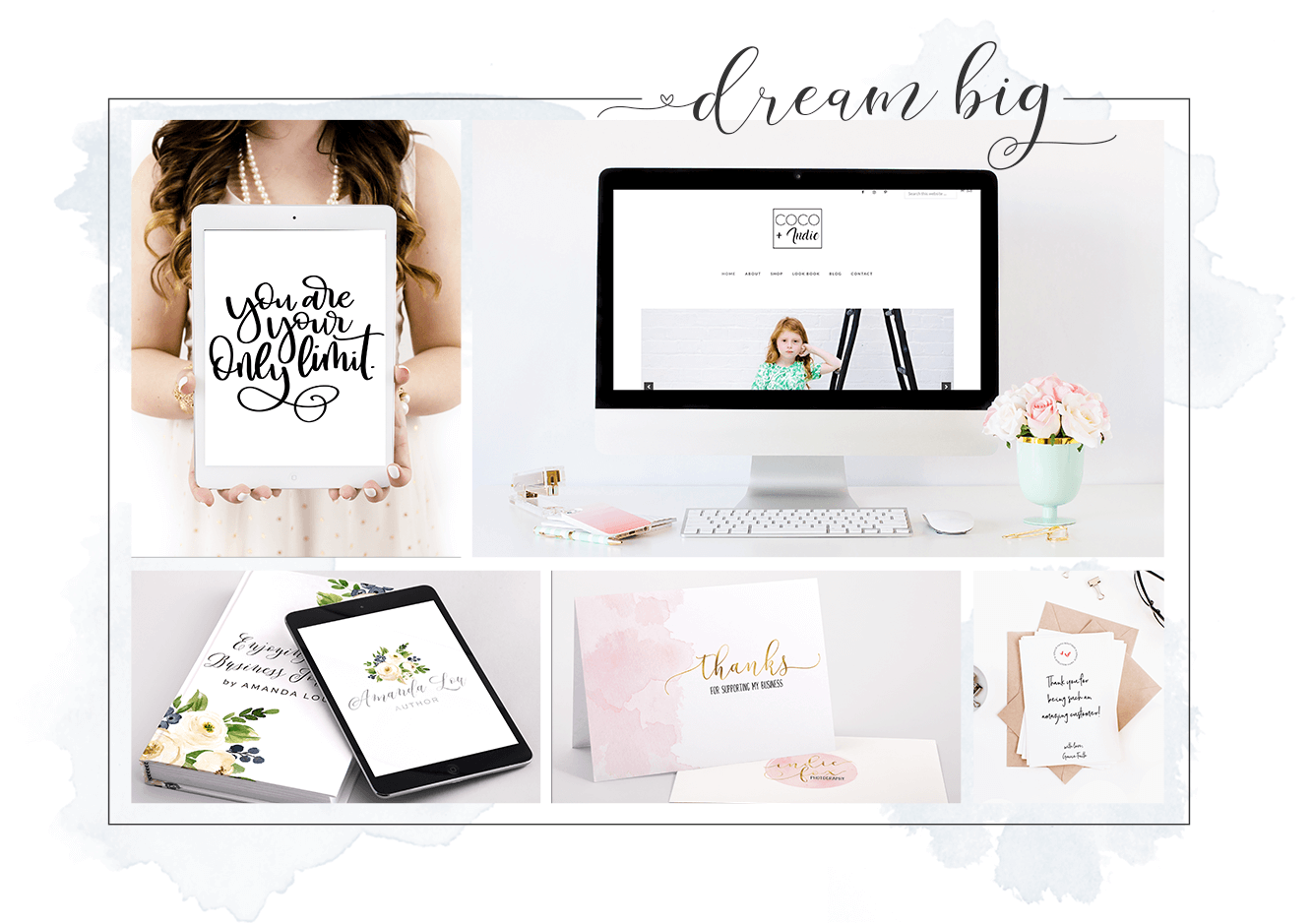 Autumn Lane Paperie Custom Logo & Website Design