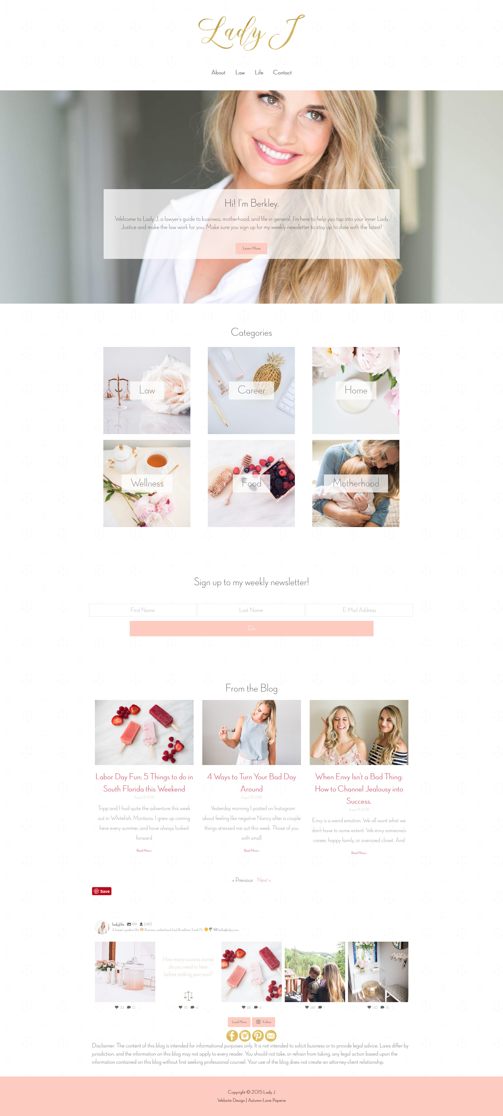Lady J Website