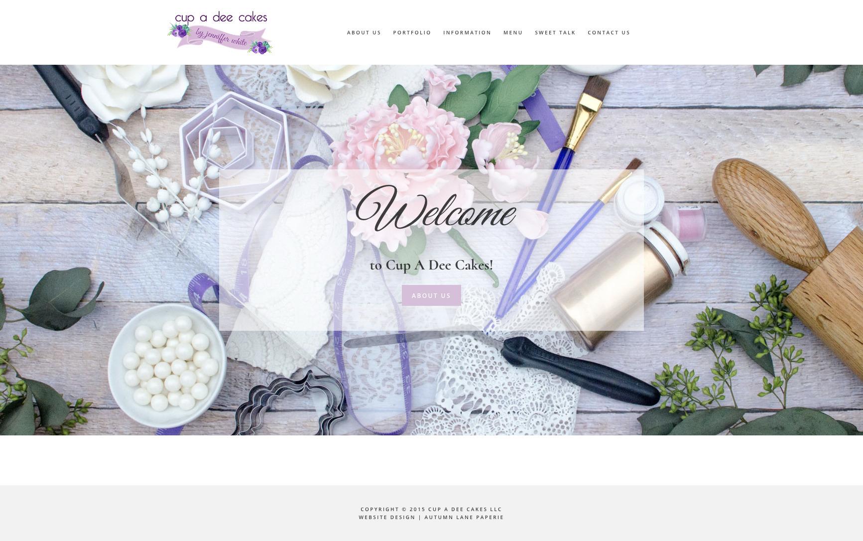 Cupadee Cakes Website