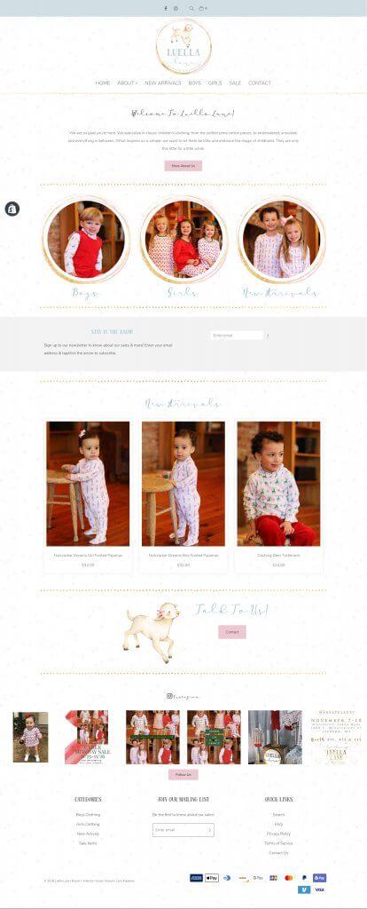 Shop Luella Lane Website