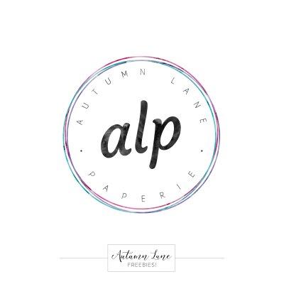 free logo circle initials