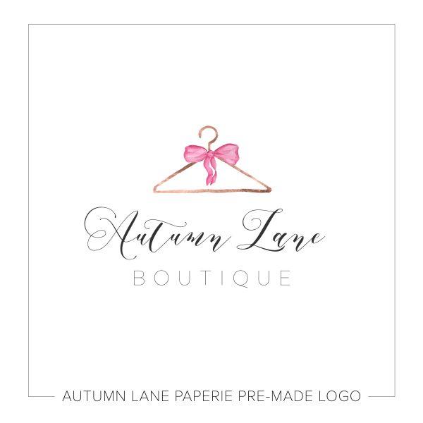 Fashion Boutique Logo Clothes Hanger N54