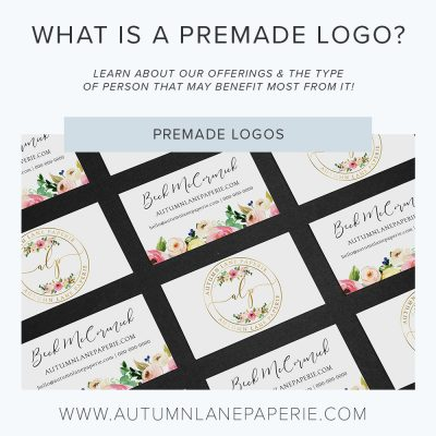 What is a premade logo?