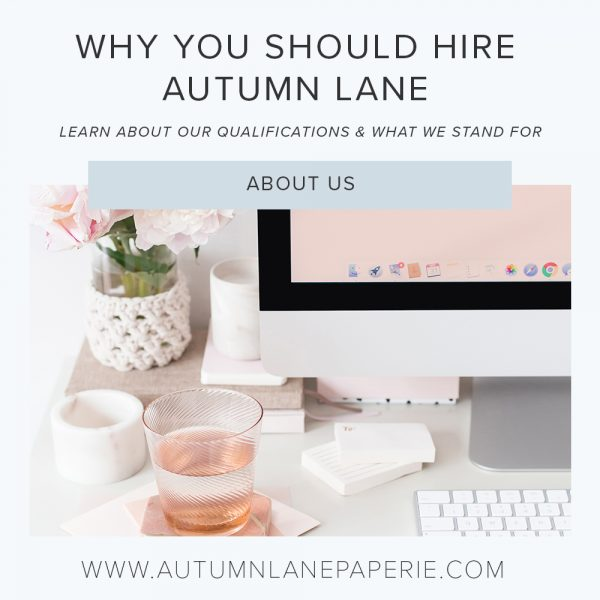 why you should hire autumn lane