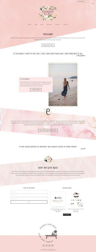 premade website