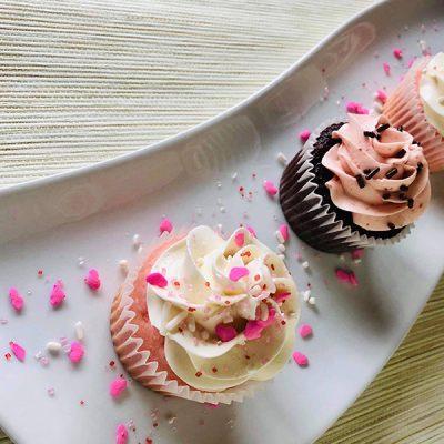valentine cups sprinkles
