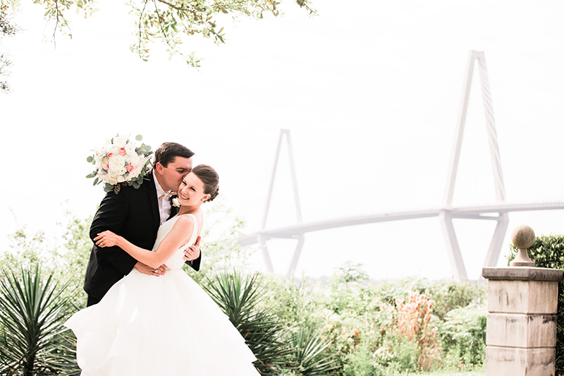 Cooper River Bridge wedding