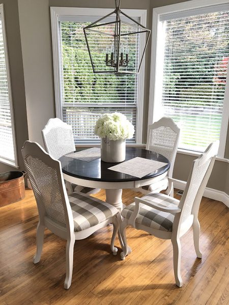 sunny dining nook Vancouver BC Canada