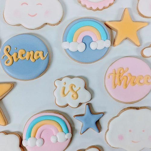 simply sweets by lauren birthday cookies