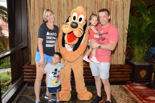 Tara and family enjoy Walt Disney World Resorts