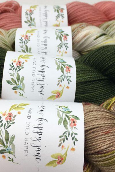 Sew Happy Jane labels