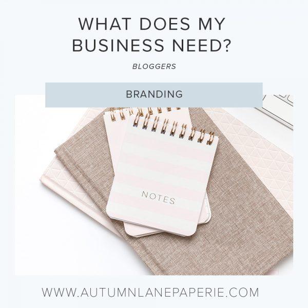 blogger branding needs