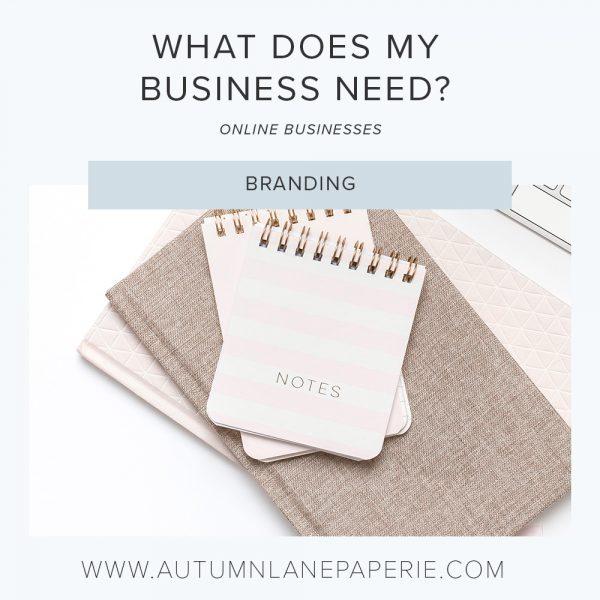 online business branding needs
