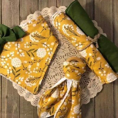napkin set by Amber Rassel