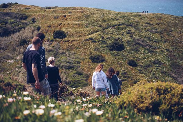 hiking Portugal coast Sunny Soul