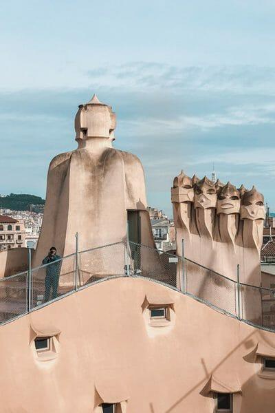 barcelona figures antoni gaudi