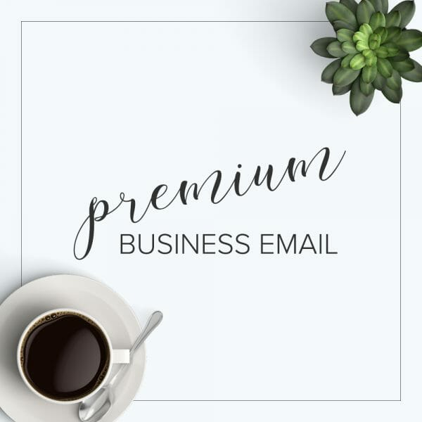 premium business email