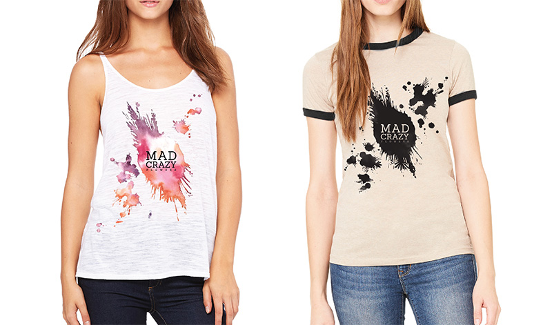 Mad Crazy Flowers Shirts