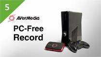 Record XBOX 360 Gameplays with AVerMedia LGP (Live Gamer Portable) in PC-Free Mode