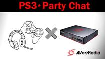 How to record PS3 Party Chat with Game Capture HD II