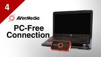 Connect Laptop to AVerMedia LGP (Live Gamer Portable) in PC-Free Mode