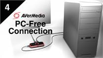 Connect Desktop with AVerMedia LGP (Live Gamer Portable) in PC-Free Mode