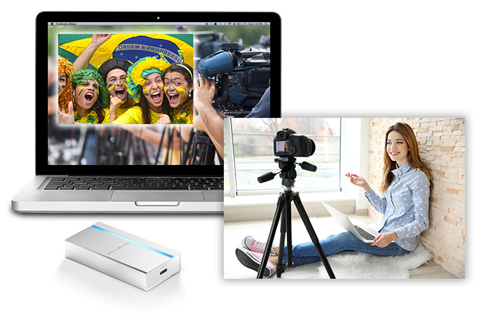 ExtremeCap UVC boosts your work with on-board video upscaling and color space converting.