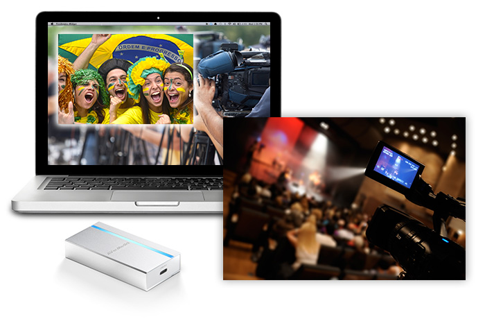 ExtremeCap SDI boosts your work with on-board video upscaling and color space converting.