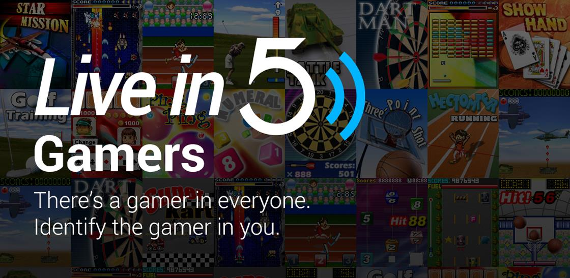 Live in Five—Gamers