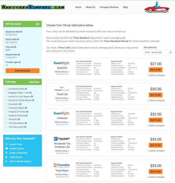 Schengen Visa - Aardvark Travel Insurance Options | AardvarkCompare.com