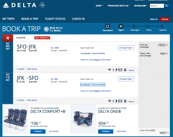 Delta Travel Insurance - $407 Economy Seat | AardvarkCompare.com